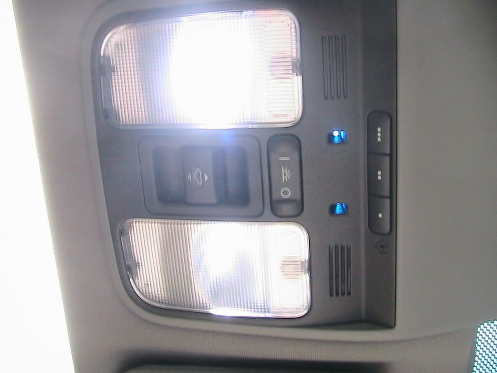 Acura tl 2004 to 2008 how to install led interior lighting acurazine 2004 acura tl led interior lights