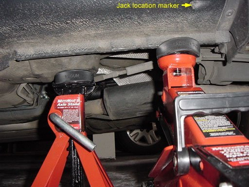 Audi A4 B7 and A4 B8 How to Jack Up Car - Audiworld
