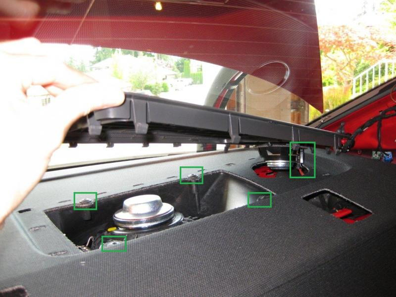 Audi A4 B8 How To Install Subwoofer Audiworld