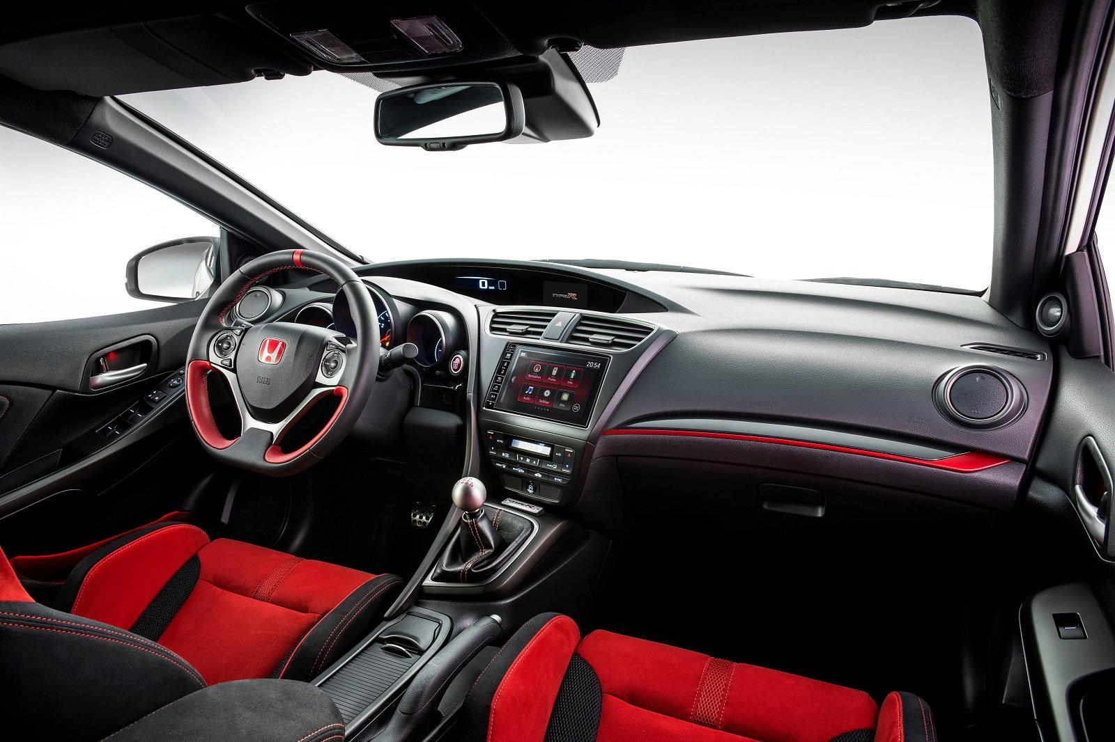 Pictured: Euro-spec Honda Civic Type R (Source: Honda Europe)