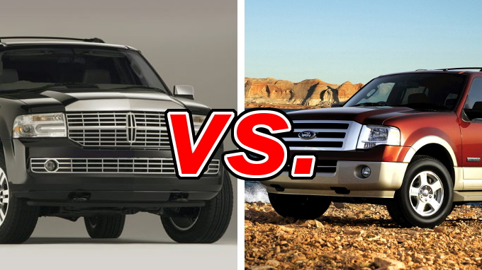Lincoln Navigator vs Ford Expedition - CarsDirect