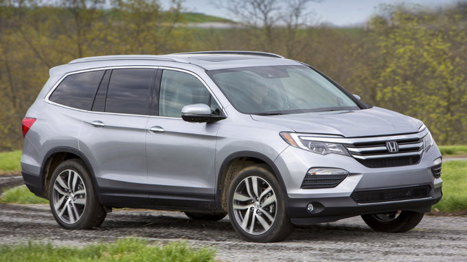 2017 honda pilot deals prices incentives leases overview carsdirect. Black Bedroom Furniture Sets. Home Design Ideas