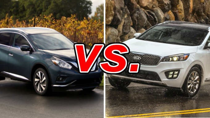 Nissan Murano vs. Kia Sorento - CarsDirect