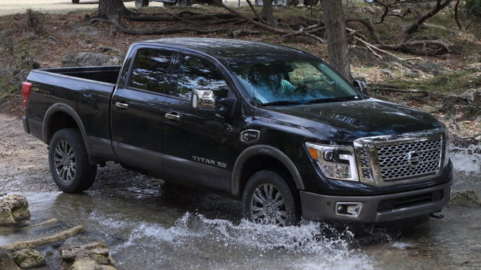 2017 nissan titan xd styles features highlights. Black Bedroom Furniture Sets. Home Design Ideas