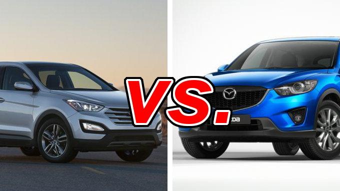 Hyundai Santa Fe Sport Vs Mazda Cx 5 Carsdirect