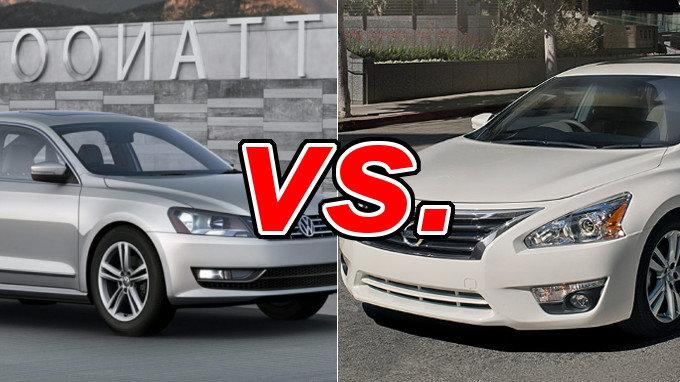 Volkswagen Passat Vs Nissan Altima Carsdirect