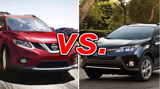 Build Your Own Subaru >> Nissan Rogue vs. Toyota RAV4 - CarsDirect
