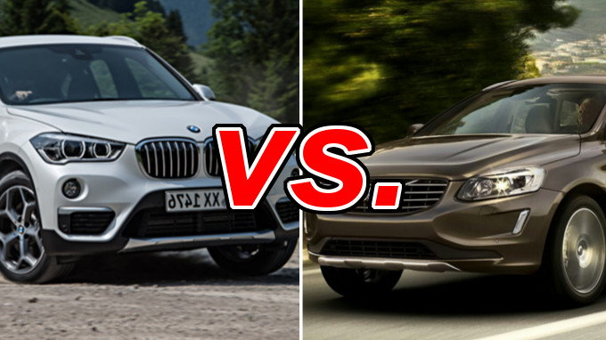 bmw x1 vs volvo xc60 carsdirect. Black Bedroom Furniture Sets. Home Design Ideas