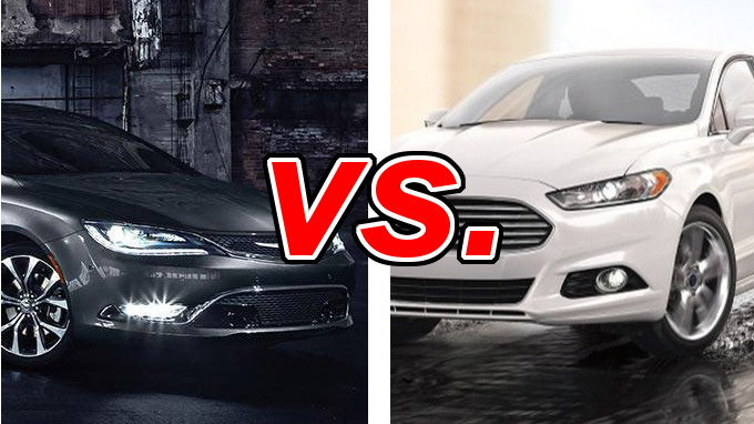 Nissan Rogue Vs Murano >> Chrysler 200 vs Ford Fusion - CarsDirect