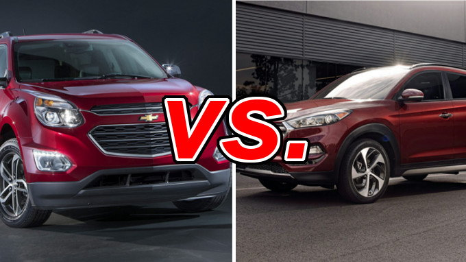 Chevrolet Equinox Vs Hyundai Tucson Carsdirect