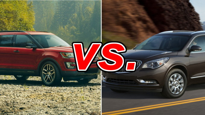 Build Your Own Subaru >> Ford Explorer vs. Buick Enclave - CarsDirect
