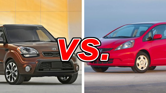 kia soul vs honda fit carsdirect