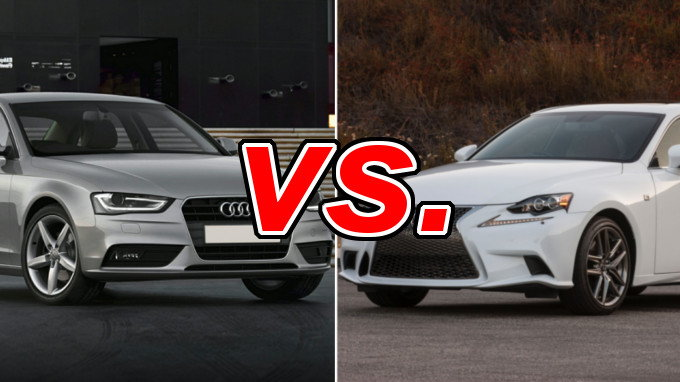 audi a4 vs lexus is 300 carsdirect. Black Bedroom Furniture Sets. Home Design Ideas