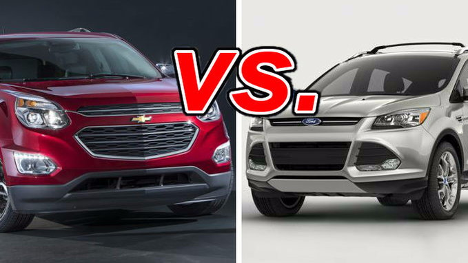 chevrolet equinox vs ford escape carsdirect. Black Bedroom Furniture Sets. Home Design Ideas