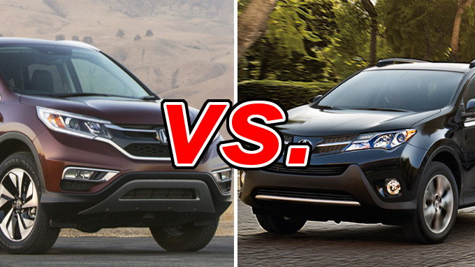 Honda cr v vs toyota rav4 carsdirect for Honda crv vs toyota highlander