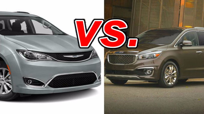 Chrysler Pacifica Vs Kia Sedona Carsdirect