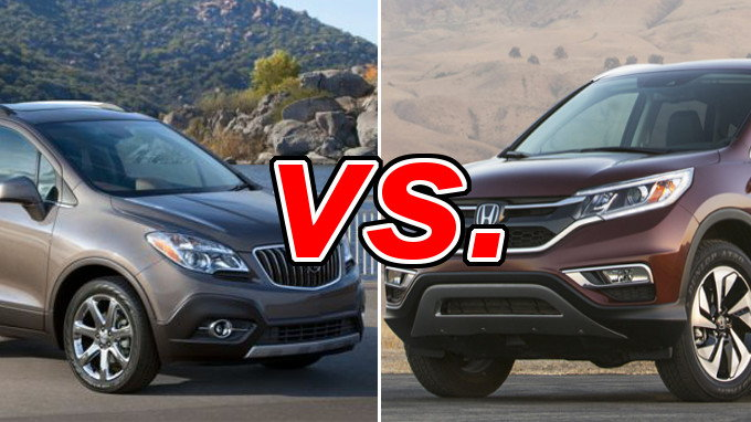 Honda cr v vs buick encore carsdirect for Buick encore vs honda hrv