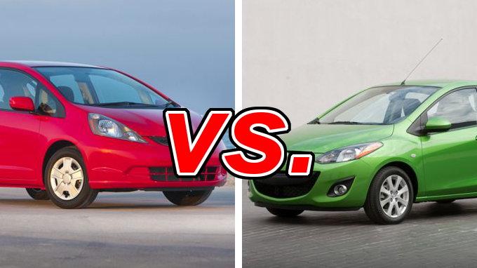 Build Your Own Audi >> Honda Fit vs. Mazda Mazda2 - CarsDirect