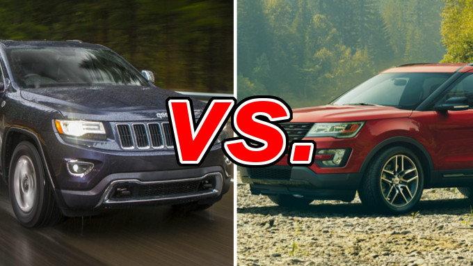 Subaru Outback Vs Forester >> Jeep Grand Cherokee vs. Ford Explorer - CarsDirect