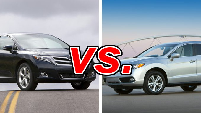 toyota venza vs acura rdx carsdirect. Black Bedroom Furniture Sets. Home Design Ideas