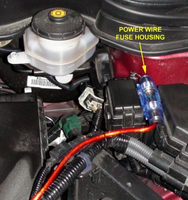 Corvette How To Install Amplifier Corvetteforum