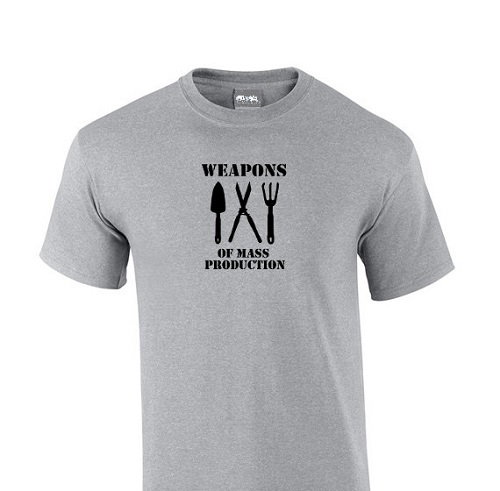 Funny gray t-shirt