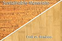 If i glue cork to the wall will it improve insulation for Cork vs bamboo flooring