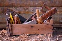 toolbox full of tools