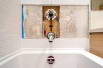 how to remove caulking from a tub surround. Black Bedroom Furniture Sets. Home Design Ideas