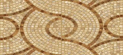 Reusing Broken Ceramic Tiles To Create A Mosaic