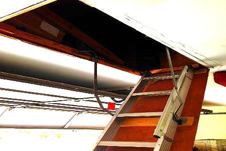 Making Your Own Attic Stairs Insulation Cover
