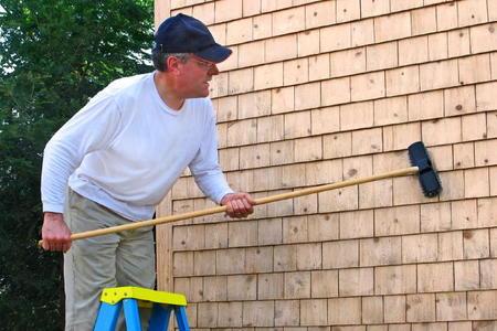 Patch Holes Cedar Siding Program Go