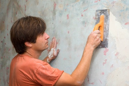 Interior painting 5 wall repairs - How to hide cracks in walls ...