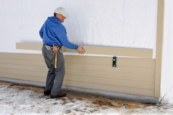 Cement Board Siding Installation : How to install vinyl siding in easy steps doityourself