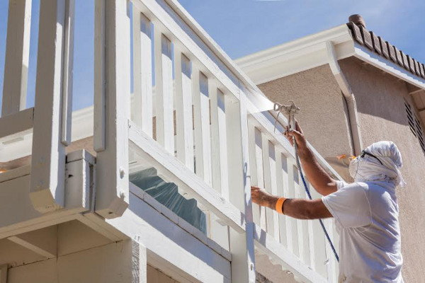 14 professional exterior painting tips for Exterior mural painting techniques