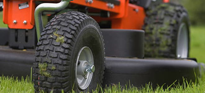 Nail In Tire Repair >> Change Your Riding Lawn Mower Tires   DoItYourself.com