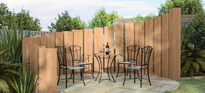 2. Create an Architectural Element With Fencing