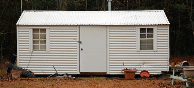 how to make a metal shed taller