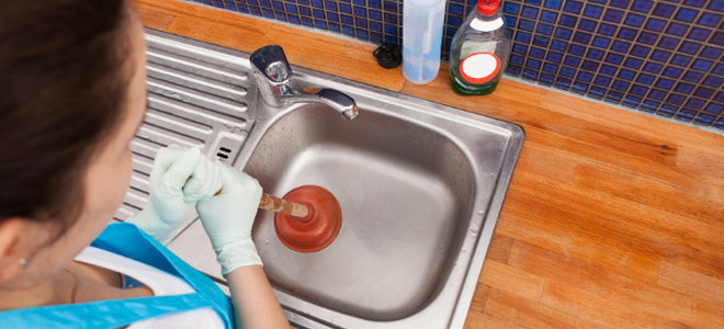 kitchen sink clogs can be a real pain before calling a plumber pull any food from the drain that you can using a piece of wire or needle nose pliers - Kitchen Sink Problem