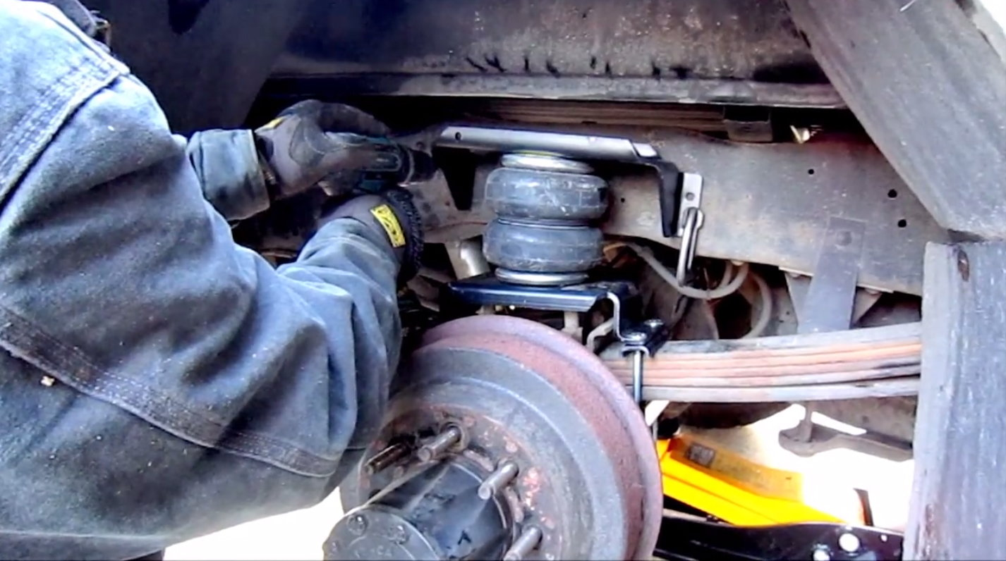 Ford F150 Install Airbag Suspension How To