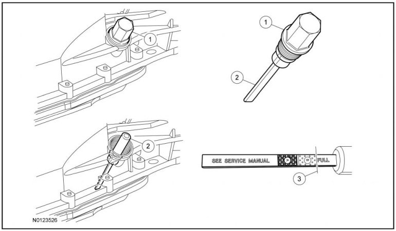 Ford F 150 Transmission Dipstick Location on ford f 150 neutral safety switch