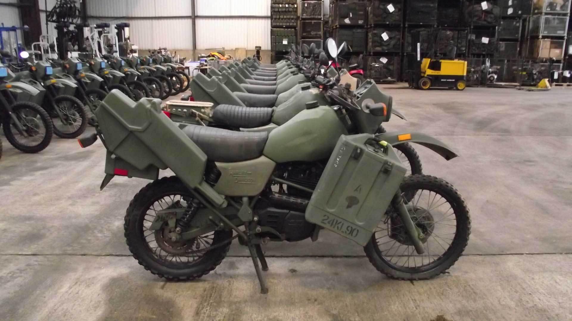 Harley Davidson Dirt Bike For Army