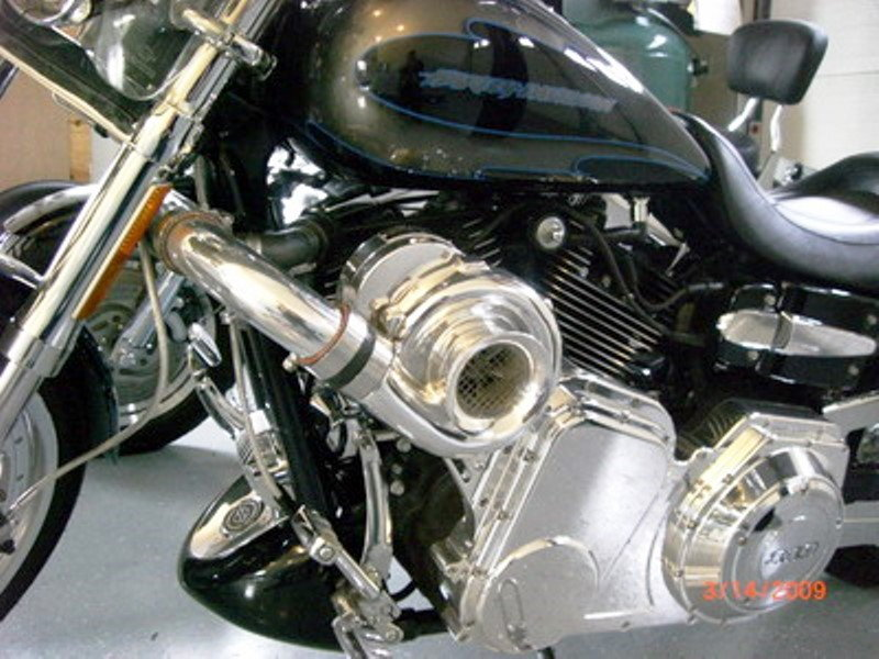 Harley Touring Supercharger