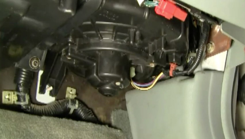 Honda Accord How To Replace Blower Motor Assembly Honda Tech