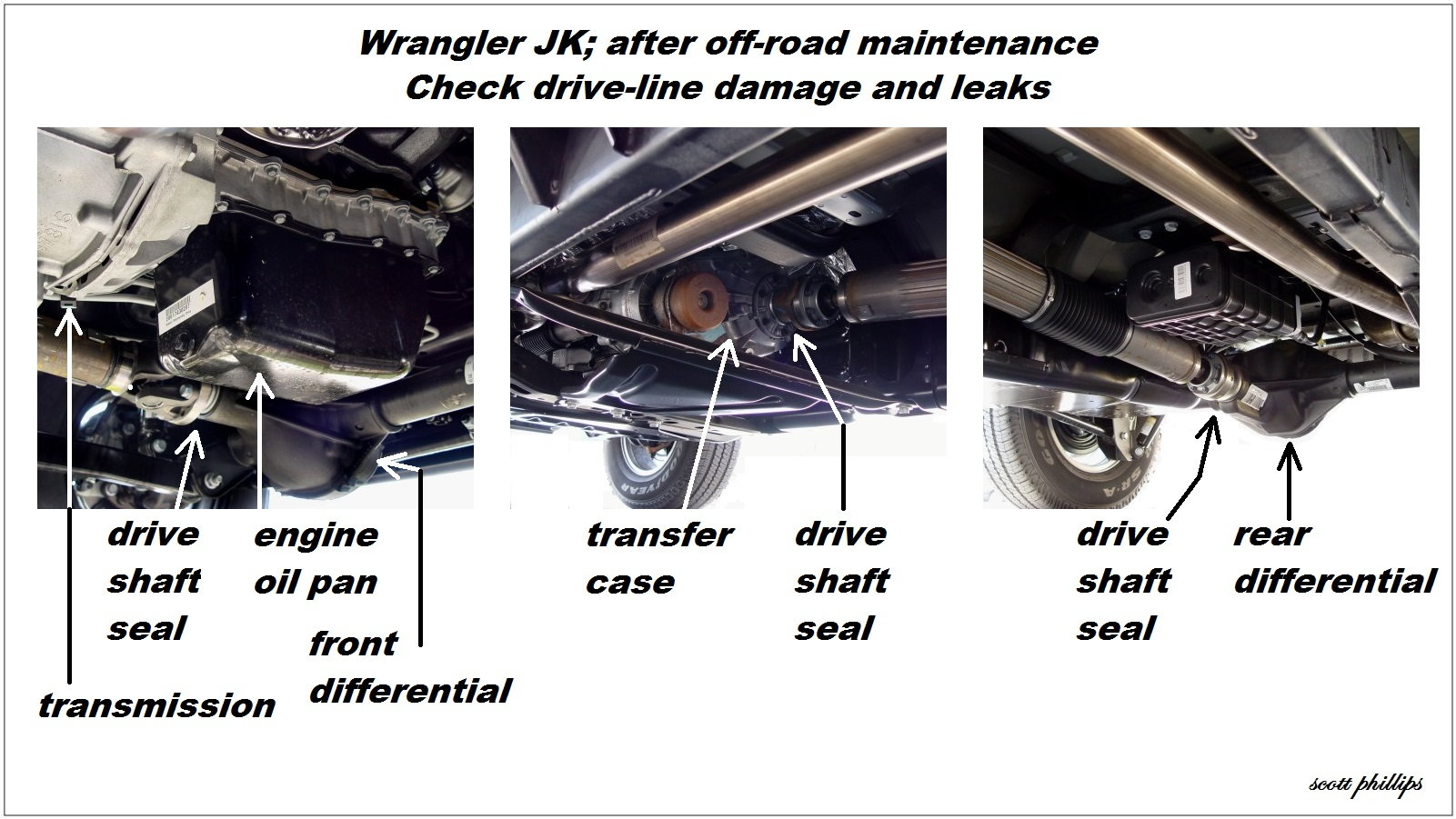 Jeep Wrangler Jk How To Perform After Off Roading