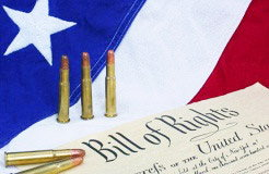 Bullets, Flag and Bill of Rights