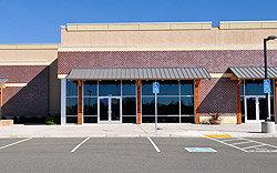 Empty Retail Building