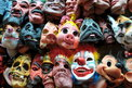 Putting on various masks can help family members cope
