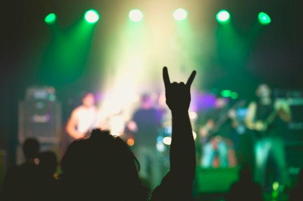 rock n roll concert
