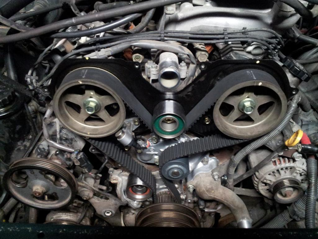 How To Replace A Water Pump On Toyota Tundra Hot Russian
